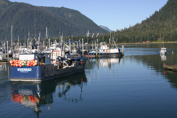 Petersburg Alaska Harbor
