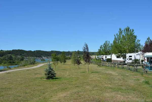 bow rivers edge campground cochrane alberta