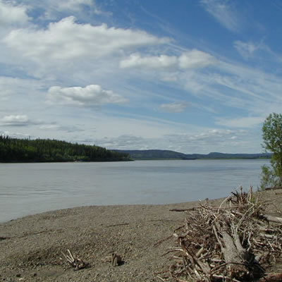 Yukon River Far North Alaska