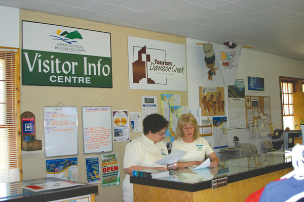 Dawson Creek BC Visitor Information
