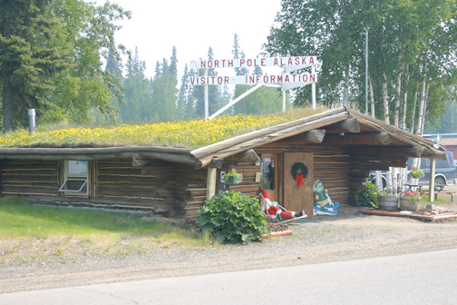 North Pole Alaska Visitor Center