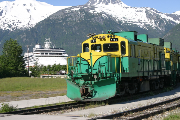 Skagway Alaska White Pass Railroa