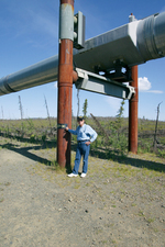 Publisher Scott Graber Alaska Pipeline