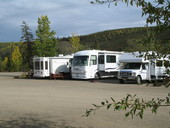 RV Parking Chicken Alaska